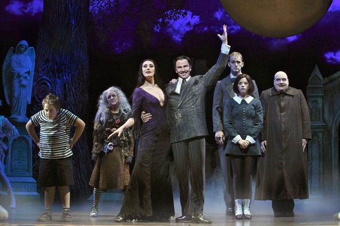 "The key to a successful staging of ""The Addams Family"" is taking concrete characters and putting them in a foreign land. Marshall Brickman and Rick Elice did exactly that in the production playing at the Kennedy Center."