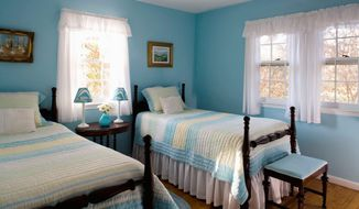 Courtesy of Susan Nelson Interiors  Parents first should decide on a color scheme for the room, then determine the layout and then evaluate how much space is left.