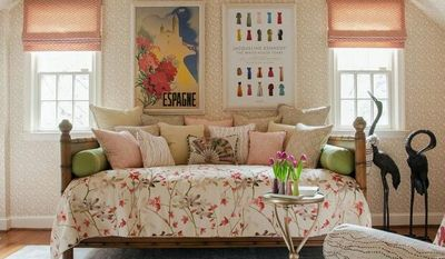 Courtesy of Susan Nelson Interiors Susan Nelson of Susan Nelson Interiors in Great Falls suggests choosing furniture that will be flexible to accommodate the changing needs of the child. Designer Nancy Twomey recommends including an upholstered chair.