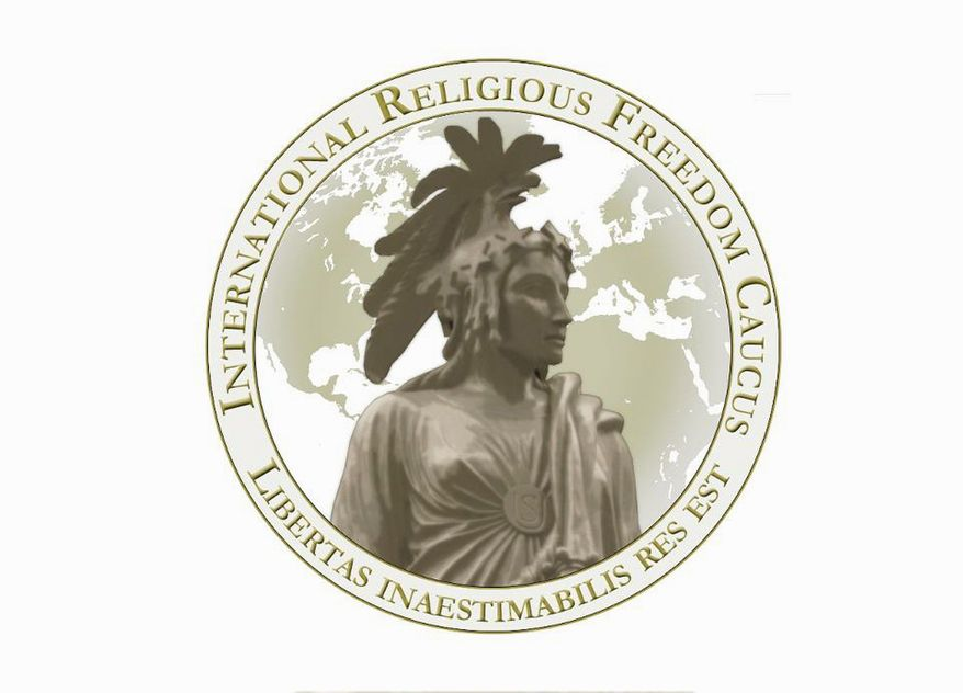 Led by Reps. Trent Franks and Heath Shuler, the bipartisan International Religious Freedom Caucus seeks to protect Christians and other religious minorities in the Arab world. (Image from International Religious Freedom Caucus)