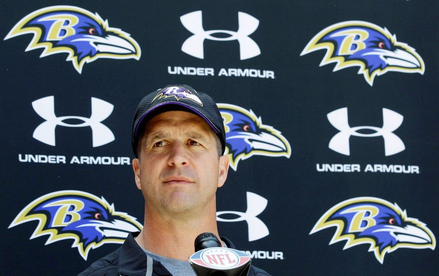 Injuries and depth concerns mean Ravens coach John Harbaugh will have his work cut out as he tries to make a fifth consecutive playoff appearance. (Associated Press)