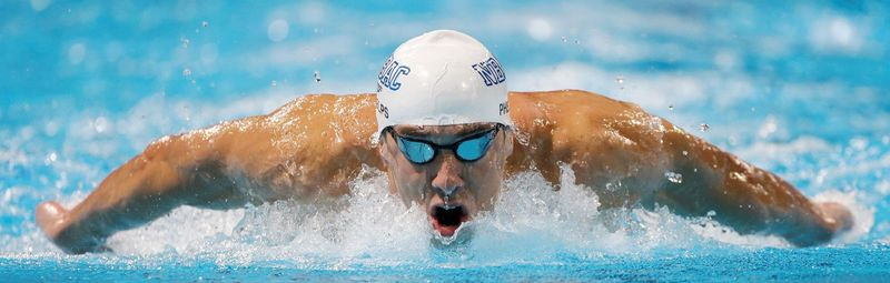 Michael Phelps (top) and Ryan Lochte will dominate the headlines in swimming and just may be the biggest attraction of the London Games. (Associated Press)