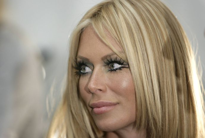 **FILE** Former adult film star Jenna Jameson is photographed in Culver City, Calif., on Oct. 15, 2007. (Associated Press)