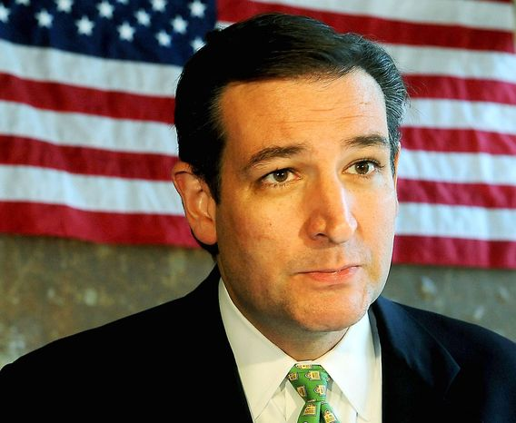 The Club for Growth Action has spent about $5.5 million to try to push tea party insurgent Ted Cruz to victory. The Texas Conservatives Fund, which backs Lt. Gov. David Dewhurst, has doled out $5.2 million to attack the tea party favorite. (Associated Press)