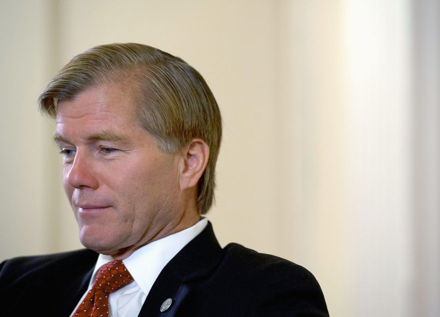 ** FILE ** Gov. Bob McDonnell of Virginia meets with editors and reporters of The Washington Times on Friday, July 27, 2012. (Barbara L. Salisbury/The Washington Times)