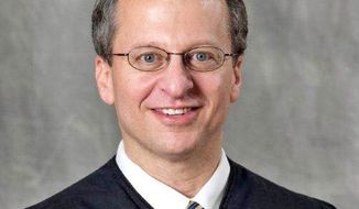 Judge Robert E. Bacharach was nominated by President Obama for a seat on the 10th Circuit Court of Appeals. Votes to break a Republican-led filibuster in the Senate fell short of the 60 required. (Associated Press)