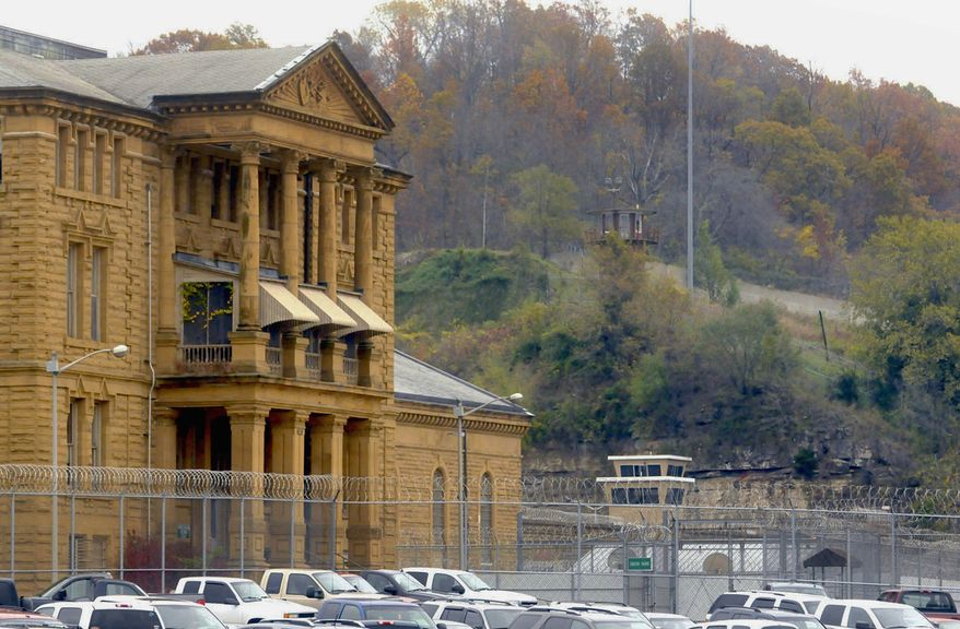 **FILE** The Menard Correctional Center in Chester, Ill., is seen here Nov. 4, 2011. (Associated Press/The Southern Illinoisan)