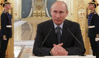 Russian President Vladimir Putin (Associated Press)