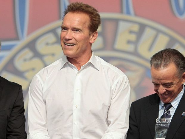 Arnold Schwarzenegger, former governor of California, has established a state and global policy institute at the University of Southern California. (Associated Press)