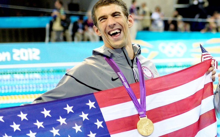 U.S. swimmer Michael Phelps has won the most Olympic medals in history. (Associated Press)