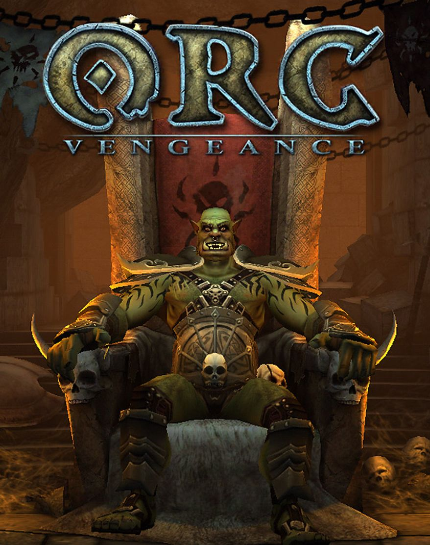 Meet the Orc warchief Rok in the iPad game ORC: Vengeance.