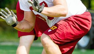 Redskins offensive lineman Josh LeRibeus, a third-round pick out of Southern Methodist, has seen time with the first team in training camp while starting left guard Kory Lichtensteiger recovers from his second knee surgery in less than a year. Offensive line depth was a recurring problem for Washington last year.
