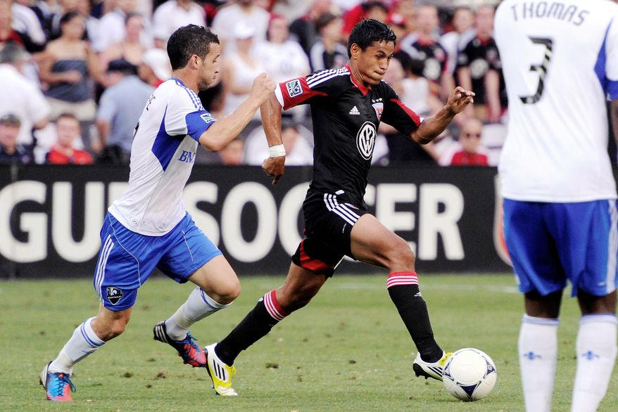 D.C. United midfielder Andy Najar returned to training Tuesday after representing Honduras in the Olympics. The 19-year-old started three matches as Los Catrachos made a surprise run to the quarterfinals. (The Washington Times)