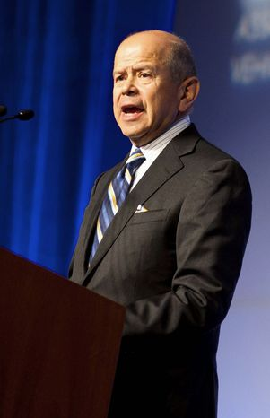 Michael P. Huerta is the administrator of the Federal Aviation Administration. (Associated P