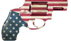 Illustration Flag Gun by Linas Garsys for The Washington Times
