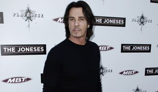 "**FILE** Musician Rick Springfield arrives April 8, 2010, at the premiere of ""The Joneses"" in Los Angeles. (Associated Press)"