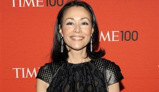 "** FILE * This April 24, 2012 photo shows NBC's Ann Curry at the TIME 100 gala at the Frederick P. Rose Hall in New York. Curry made her first return to NBC's ""Today"" show on Thursday to introduce a filmed report on a still photographer at the London Olympics. She lost her job as Matt Lauer's co-anchor in June and was replaced by Savannah Guthrie. (AP Photo/Evan Agostini, file)"
