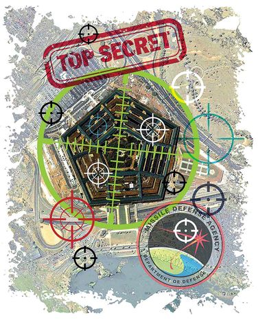 Illustration Top Secret Compromised by Greg Groesch for The Washington Times