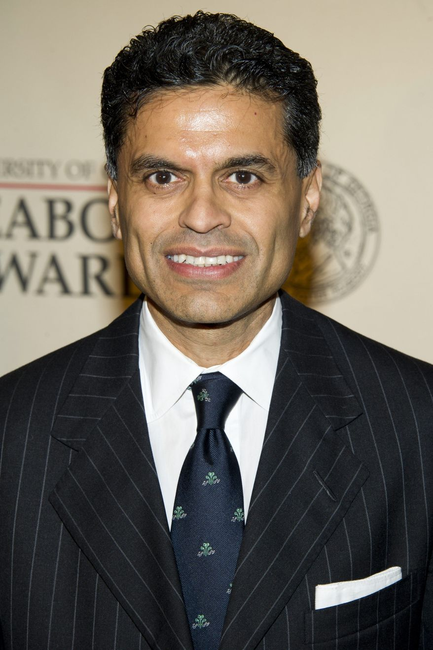 Columnist and TV host Fareed Zakaria is accused of plagiarizing for articles he wrote for Newsweek. (AP Photo/Charles Sykes, file) ** FILE **