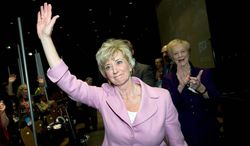 Linda McMahon has a comfortable lead in the race for a U.S. Senate seat in Connecticut over former Rep. Christopher Shays. (Associated Press)