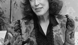 **FILE** Cosmopolitan editor Helen Gurley Brown is seen here Sept. 20, 1982, during an interview at her office in New York. She died at age 90 in 2012. (Associated Press)