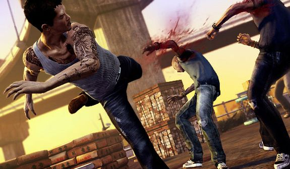 The video game Sleeping Dogs features some incredible, close quarters combat sequences.