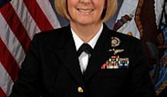 Rear Adm. Robin Braun (Courtesy of navy.mil)