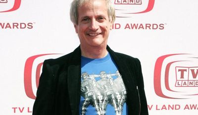 "Actor Ron Palillo, who appeared on the 1970s sitcom ""Welcome Back, Kotter,"" attends the TV Land Awards in Santa Monica, Calif., in 2008. (AP Photo/Mark Mainz)"
