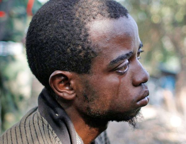 Ibrahim Nsanzimana agreed to join the Rwandan army in early July. After getting a week of training, he was told he was joining a fight to take North Kivu province in eastern Congo and to make it part of Rwanda. (Associated Press)
