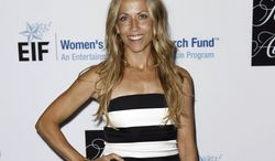 """Singer-songwriter Sheryl Crow attends the Entertainment Industry Foundation's """"Unforgettable Evening"""" in Beverly Hills, Calif., on Wednesday, April 18, 2012. (AP Photo/Matt Sayles)"""