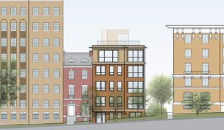 Murillo/Malnati Homes is building the Calistoga Condominium at 2225 California St. NW near Dupont Circle. The nine homes range in size from 978 to 2,012 square feet and are priced from $625,000.