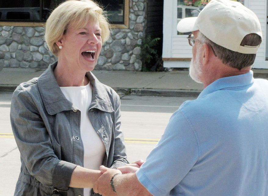 Democrats are looking to Rep. Tammy Baldwin to stem a long and deep losing streak in Wisconsin for the party that dates back to 2010. She is running for a U.S. Senate seat against former Wisconsin Gov. Tommy Thompson in the November election. (Associated Press)