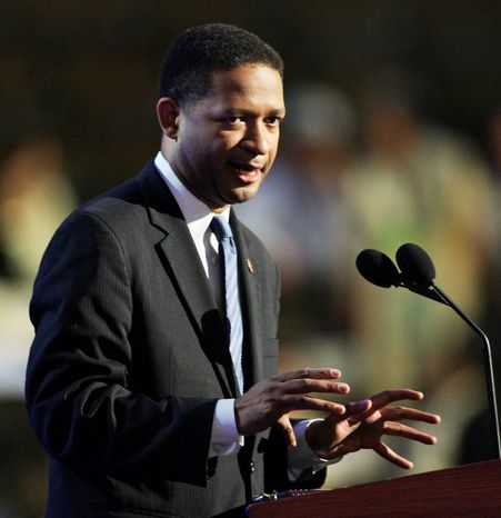 ** FILE ** Former Rep. Artur Davis, who served as a Democrat during his four terms in office and seconded Barack Obama's nomination at the 2008 convention, now supports Mitt Romney and will speak in Tampa, Fla., at the Republican National Convention. (Associated Press)