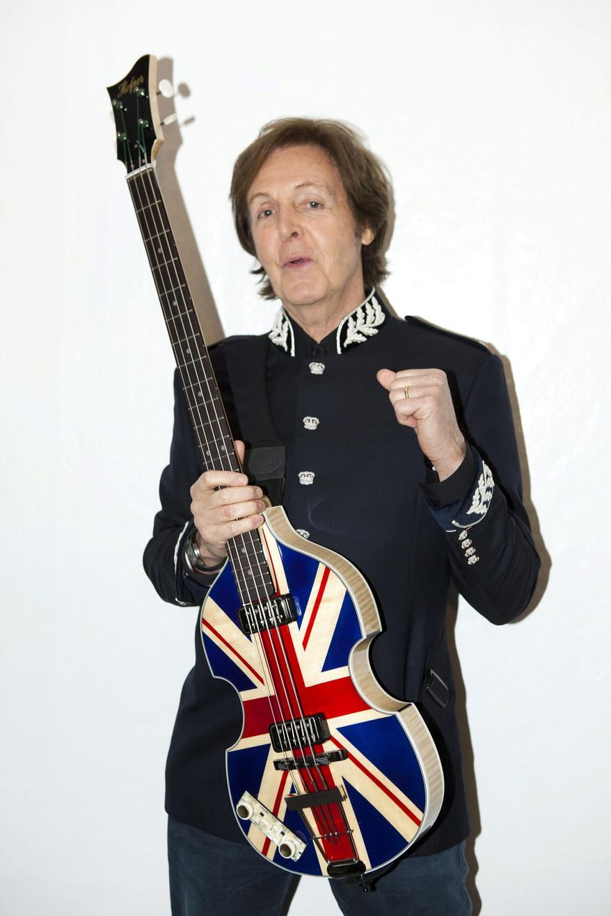 **FILE** Paul McCartney (MPL Communications via Associated Press)