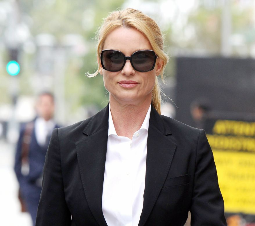"""A court in Los Angeles ruled that Nicollette Sheridan is not entitled to a new trial on her claim that she was wrongfully fired from """"Desperate Housewives."""" (Associated Press)"""