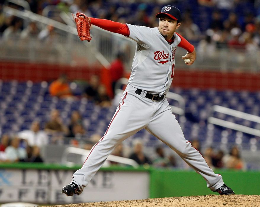 Left-hander Sean Burnett has a team-best 1.94 ERA while being used as a set-up man. (Associated Press)