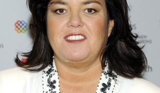 **FILE** Television personality Rosie O'Donnell attends the New York Women in Communications' 2011 Matrix Awards in New York on April 11, 2011. (Associated Press)