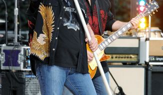 Lynyrd Skynyrd singer Johnny Van Zant and guitarist Gary Rossington will perform with the band at a veterans group fundraiser in connection with the Republican National Convention. Though he grew up in a Democratic family, Mr. Van Zant is an outspoken Republican. (Associated Press)