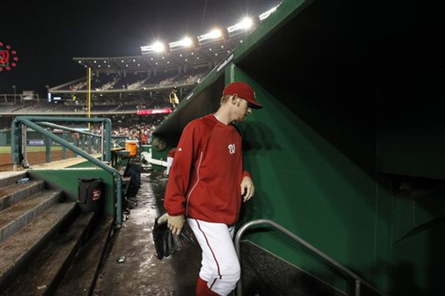 Stephen Strasburg (Associated Press)