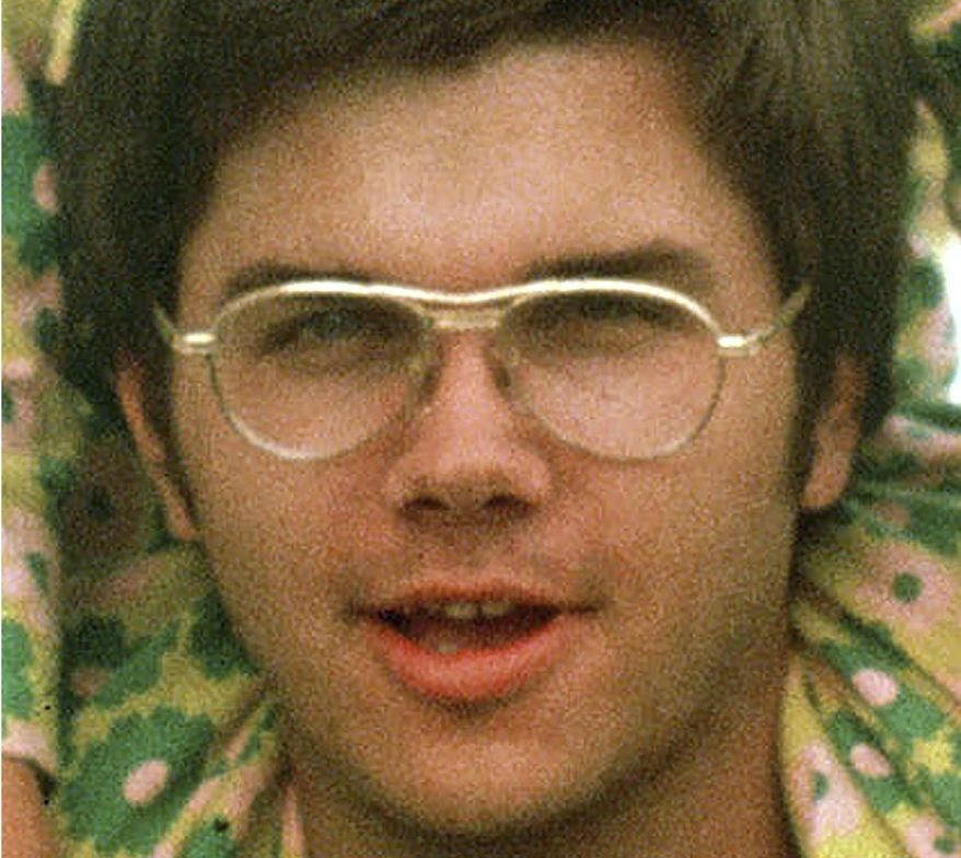 **FILE** Mark David Chapman, who was convicted in 1981 of murdering John Lennon, is seen here in 1975 at Fort Chaffee near Fort Smith, Ark. (Associated Press)