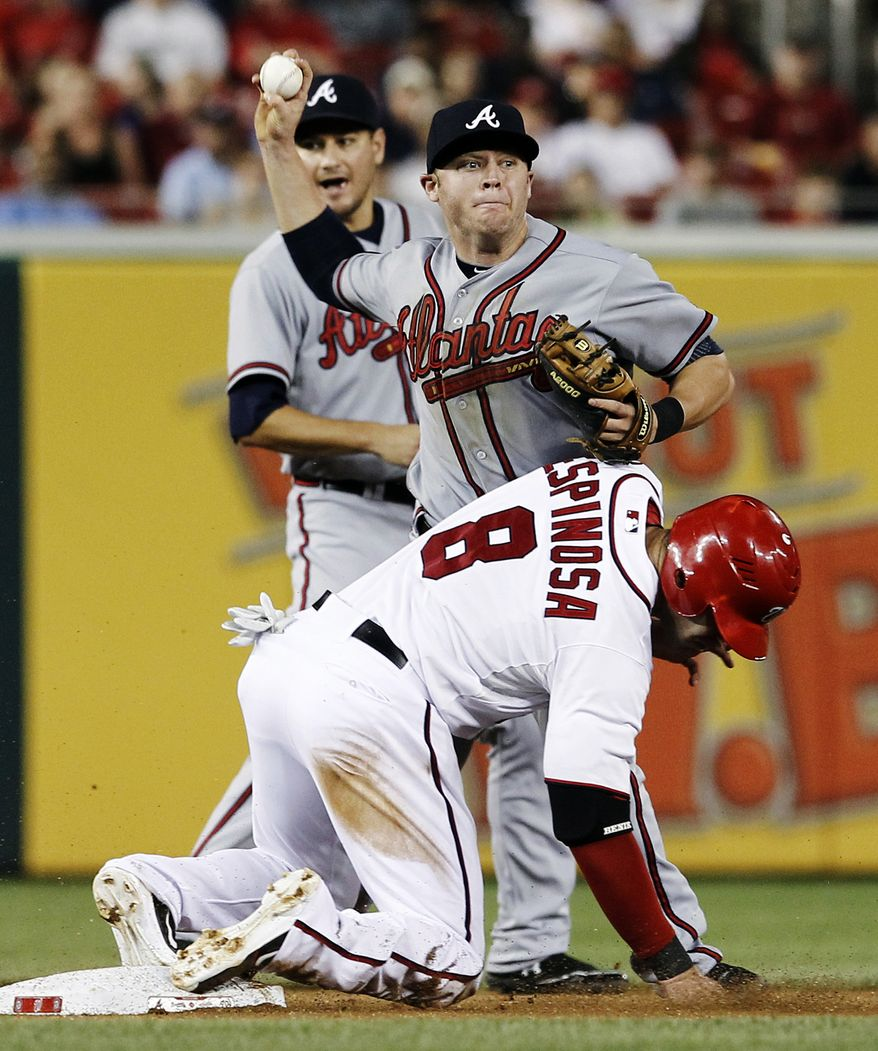 Nationals second baseman Danny Espinosa, seen here in a file photo. (Associated Press)