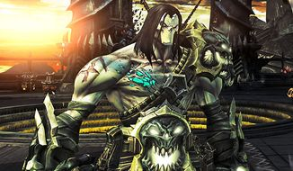 Death stars in the video game Darksiders II.