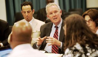 ** FILE ** D.C. Council member Tommy Wells (Raymond Thompson/The Washington Times)