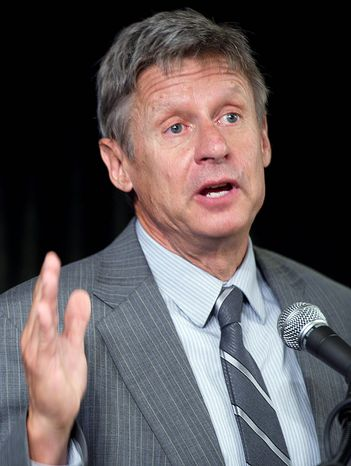 Gary Johnson (AP photos)