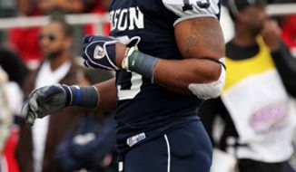 Linebacker Keith Pough had a team-high 120 tackles last season for Howard. (Howard Athletics)
