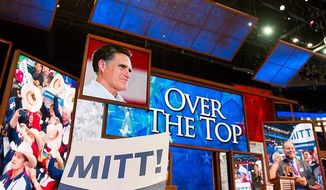 Romney 'over the top' at RNC