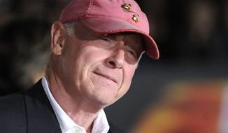 "**FILE** Director Tony Scott arrives Oct. 26, 2010, at the premiere of ""Unstoppable"" in Los Angeles. (Associated Press)"