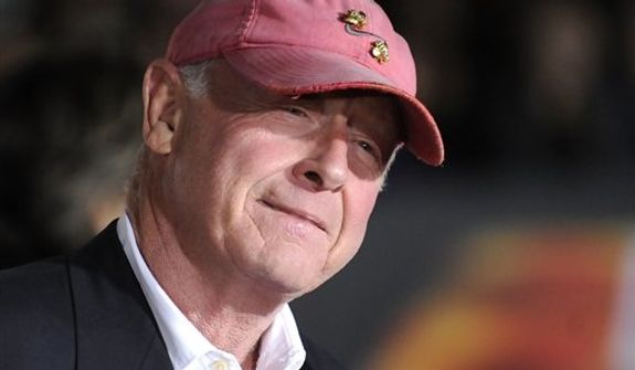 """**FILE** Director Tony Scott arrives Oct. 26, 2010, at the premiere of """"Unstoppable"""" in Los Angeles. (Associated Press)"""