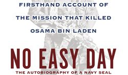 "**FILE** This book cover image released by Dutton shows ""No Easy Day: The Firsthand Account of the Mission that Killed Osama Bin Laden,"" by Mark Owen with Kevin Maurer. The firsthand account of the Navy SEAL raid that killed Osama bin Laden contradicts previous accounts by administration officials, raising questions as to whether the terror mastermind presented a clear threat when SEALs first fired upon him. (Associated Press/Dutton)"