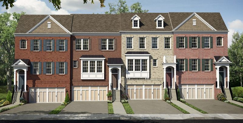 Pulte Homes is building 45 town homes on quarter-acre sites at Quince Trace in North Potomac. The Tyler model has approximately 2,467 finished square feet, and is base-priced from $559,990.